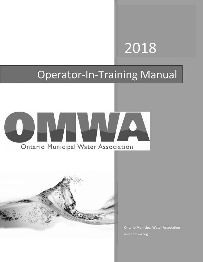 Operator-in-Training (OIT) Examination Study Guide (OMWA/MECP)